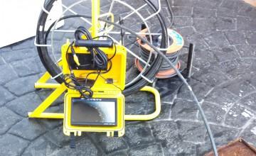 Inspección de fugas de agua con cámara